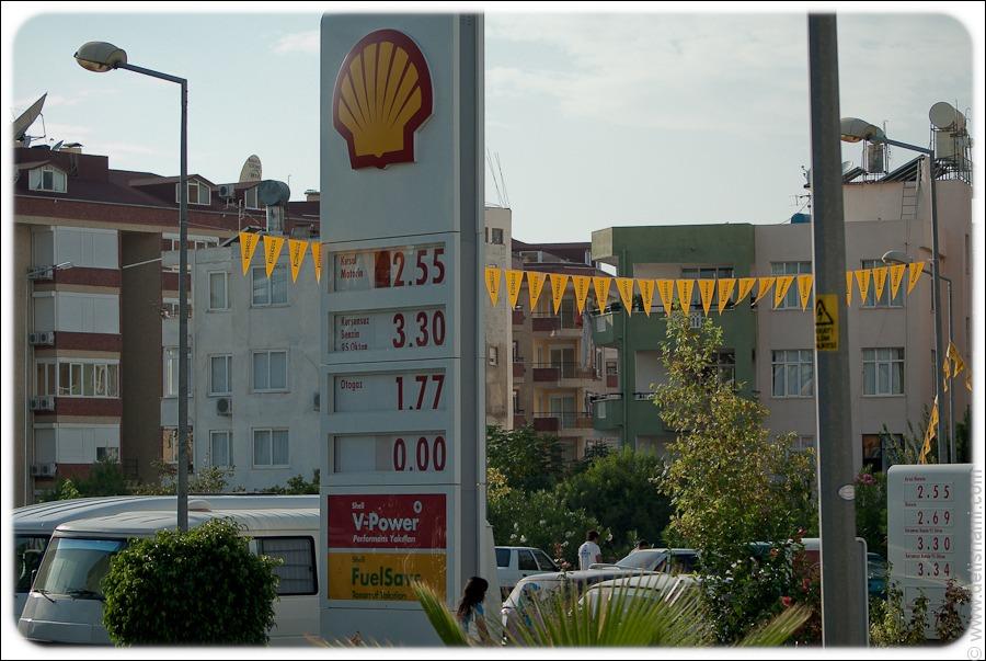 Цены на бензин в Болгарии