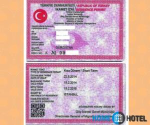 Так выглядит разрешение на работу в Турции.