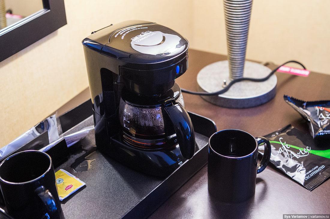 Дерьмовый кофе США - американо
