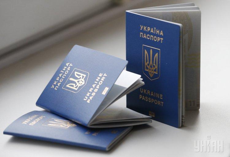 как оформить биометрический паспорт в Украине