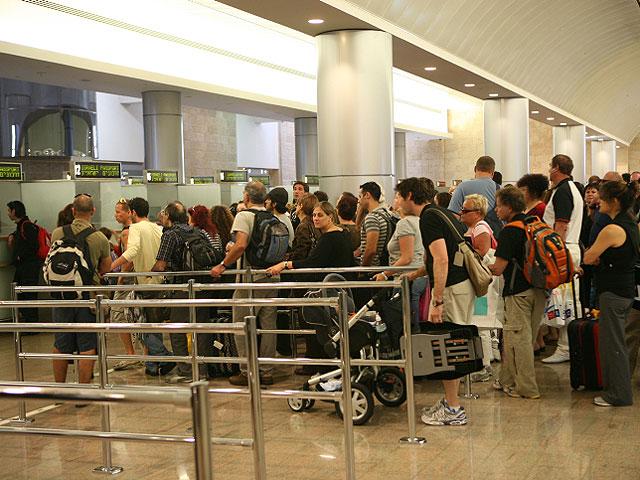 Паспортный контроль в Бен Гурион