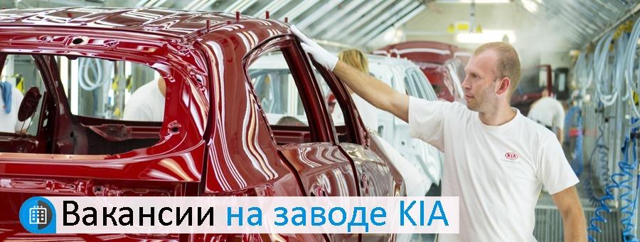 Работа на заводе KIA в Словакии