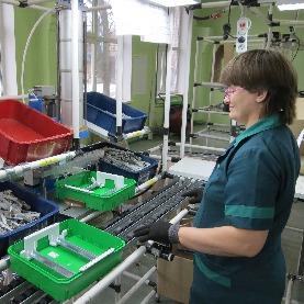 Работа в Словакии для оператора линии отливки из пластика
